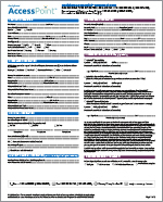 Deciphera AccessPoint Enrollment Form (for HCPs and Office Staff)